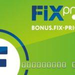 Бонус фикс прайс зарегистрировать карту — карта выгодных покупок от сети магазинов Fix Price