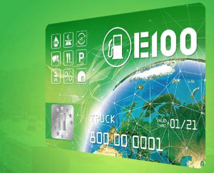 Топливная карта Е100 - карта для региональных и международных транспортных компаний