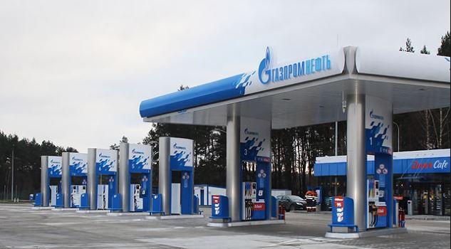 Автозаправочная станция Газпромнефть