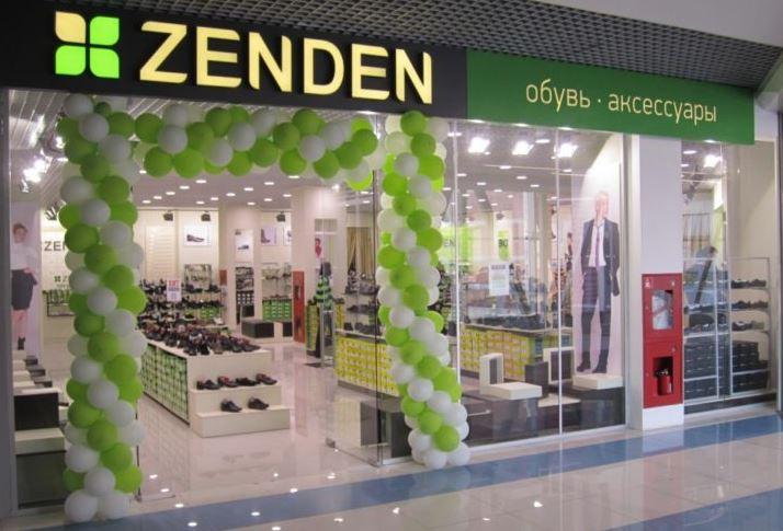 Магазин сети обуви и аксессуаров Zenden